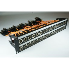 XLR Patchbay Wired